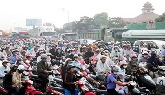 Hạn chế xe cá nhân để giảm khí thải