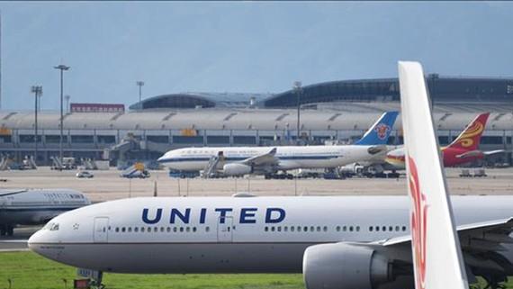 Máy bay Boeing 777 của hãng hàng không United Airlines