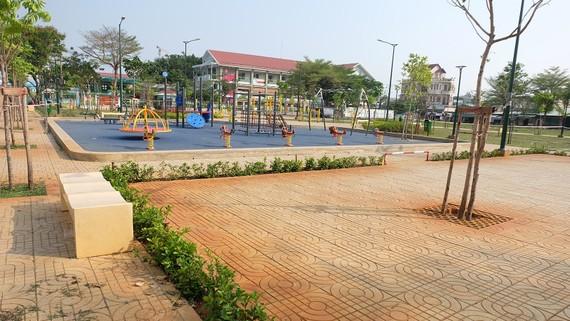 Công viên Phú Hữu (TP Thủ Đức) rộng 3.500m2, vừa đưa vào sử dụng