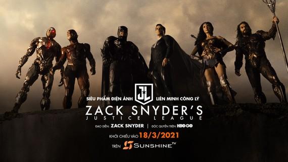 """9 điều bất ngờ về bom tấn điện ảnh """"Zack Snyder's Justice League"""" công chiếu trên Sunshine TV"""