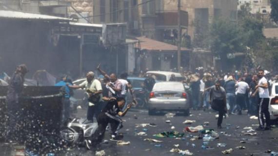 Xung đột đã gia tăng ở Đông Jerusalem trong những ngày gần đây. Ảnh: REUTERS