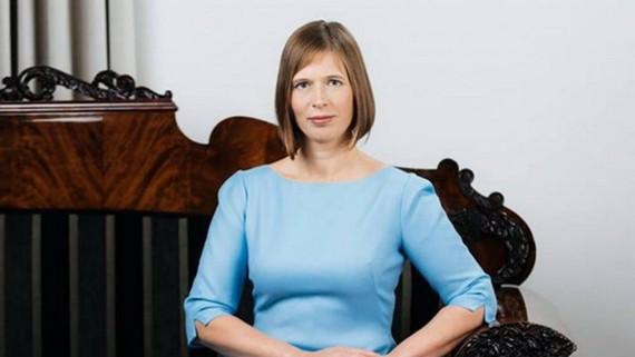 Tổng thống Estonia Kersti Kaljulaid. Nguồn: iknowpolitics