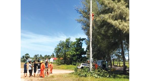 Cung cấp điện cho đồn biên phòng  cửa khẩu Hà Tiên