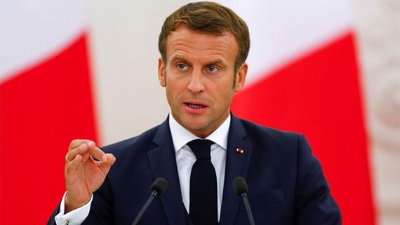 Tổng thống Pháp Emmanuel Macron. Ảnh: REUTERS