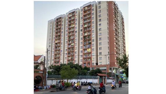 Chung cư tái định cư Trương Đình Hội 2, quận 8. Ảnh: CAO THĂNG