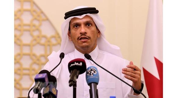 Ngoại trưởng Qatar Sheikh Mohammed bin Abdulrahman Al-Thani