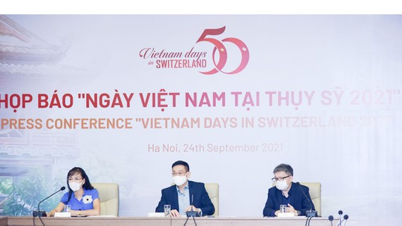 Họp báo thông tin về Ngày Việt Nam tại Thụy Sĩ năm 2021