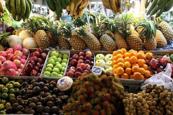 Rau quả nhập khẩu từ Thái Lan tăng vọt hơn 200%
