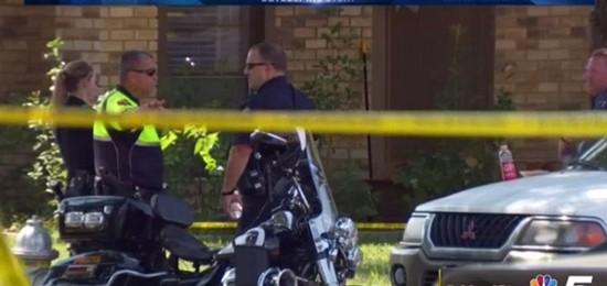 Cảnh sát tại hiện trường vụ xả súng ở Plano.