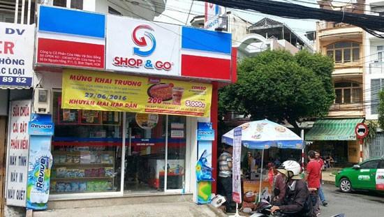 Một cửa hàng Shop&Go.