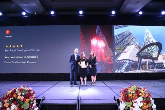 """Vincom Center Landmark 81 đã được vinh danh giải thưởng TTTM tốt nhất Việt Nam"""""""