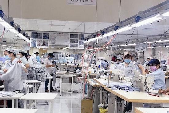 Sản xuất tại một doanh nghiệp trong KCN Kizuna.