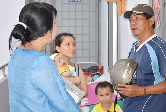 Nguười dân được hỗ trợ chi phí thuê nhà ở tạm cư torng thời gian chờ bố trí nhà tái định cư.