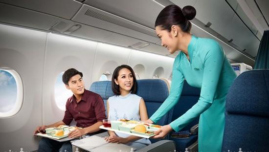 Vietnam Airlines tăng chu kỳ thay đổi suất ăn