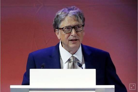 Tỷ phú Bill Gates. Ảnh: Reuters.
