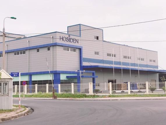 Trụ sở Công ty Hosiden - Ảnh: Cổng thông tin điện tử Bắc Giang.