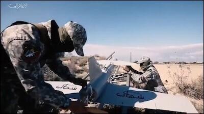 Máy bay không người lái Shehab kamikaze mới của Hamas được mô phỏng theo các biến thể của Iran được Houthis sử dụng ở Yemen.