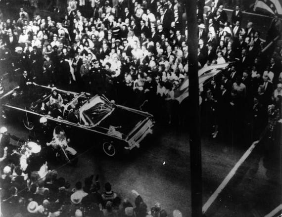 Tổng thống John F Kennedy qua đời ngày 22 tháng 11 năm 1963 (Getty Images)