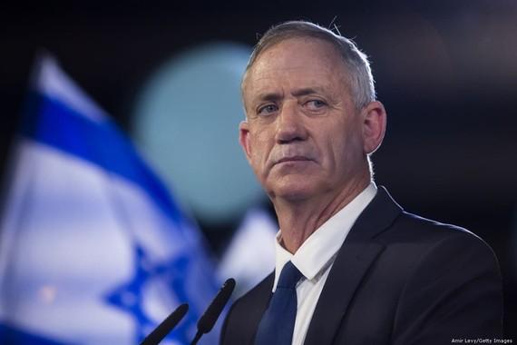 Bộ trưởng Quốc phòng Israel Benny Gantz. Ảnh: Getty.