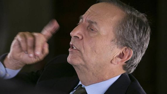The comments from Larry Summers at a conference on Tuesday marked a significant escalation of his attacks on the Federal Reserve © Bloomberg