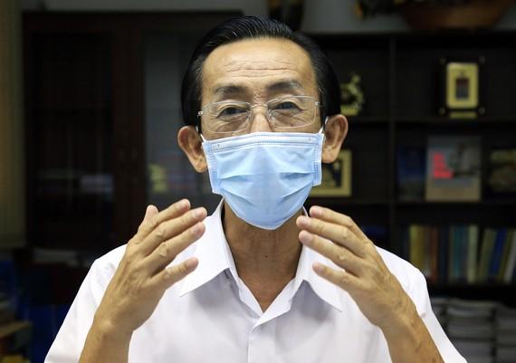 PGS. TS Trần Hoàng Ngân, Viện trưởng Nghiên cứu Phát triển TPHCM. Ảnh: Hữu Công.