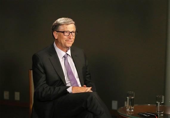 Bill Gates được coi là tiếng nói hàng đầu trong việc khắc phục những tai ương của nhân loại. Ảnh: Bloomberg.