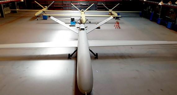 Iran đặt tên cho drone mới là Gaza. Ảnh: AP