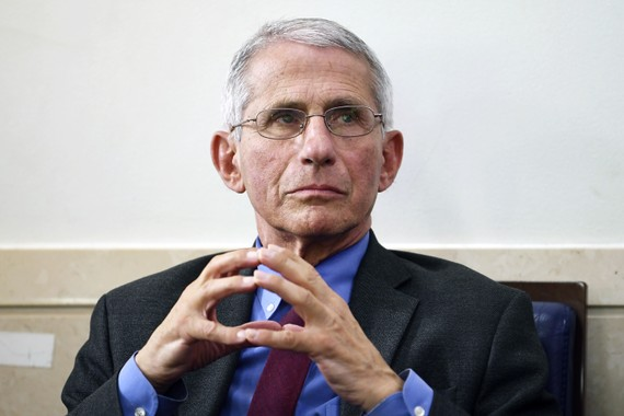 Tiến sĩ Anthony Fauci.