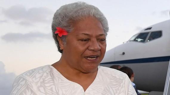 Thủ tướng đắc cử Fiame Naomi Mata'afa.