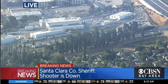 Xả súng ở San Jose, nhiều người thiệt mạng