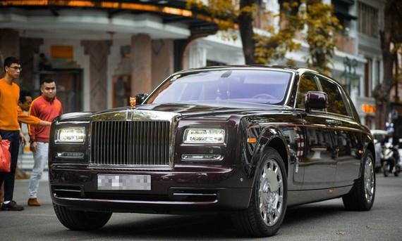 Rolls-Royce là mẫu xe có giá đắt đỏ nhất ở Việt Nam, mẫu xe này sắp tới được giảm thuế nhập bình quân 6,7%/năm, thuế nhập xe sẽ được bỏ sau 2030. Ảnh minh họa
