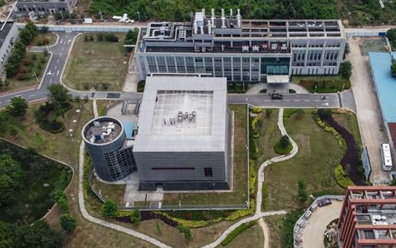 Viện Virus học Vũ Hán tại tỉnh Hồ Bắc. Ảnh: CNN
