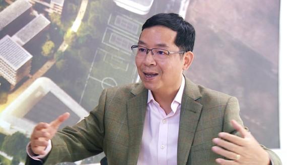 TS Vũ Thành Tự Anh, Giám đốc Trường Chính sách công và quản lý - Đại học Fulbright Việt Nam. Ảnh: Quỳnh Như