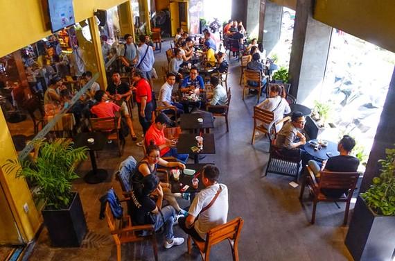 Highland Coffee hiện là chuỗi có số lượng quán nhiều nhất, lên tới 300 tiệm. Ảnh: QUANG ĐỊNH