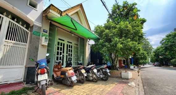Địa chỉ trụ sở của 2 trong số các công ty do giám đốc này đăng ký, tại Phước Bình, TP Thủ Đức. Ảnh: Zing