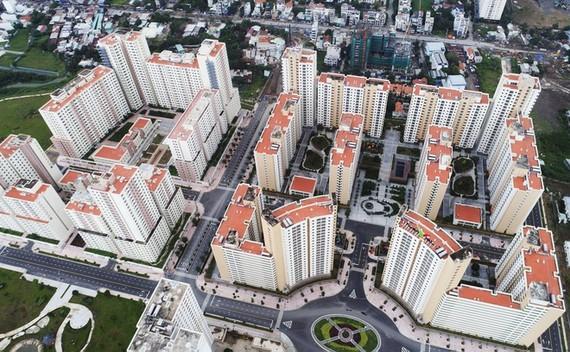 Gần 3.800 căn hộ TP dự kiến đấu giá lần 3 có vị trí đắc địa tại trung tâm đô thị mới Thủ Thiêm. Ảnh: L. Quân