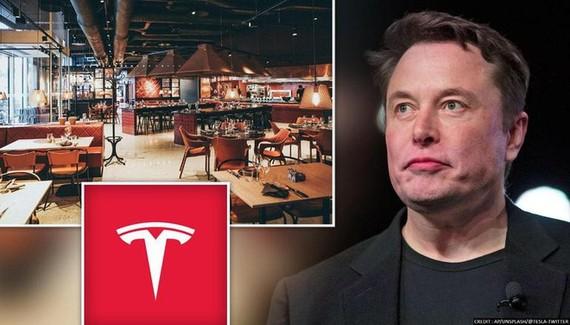 """Tesla vừa nộp đơn đăng ký sử dụng logo chữ """"T"""" cho dịch vụ nhà hàng (Ảnh: AP)."""