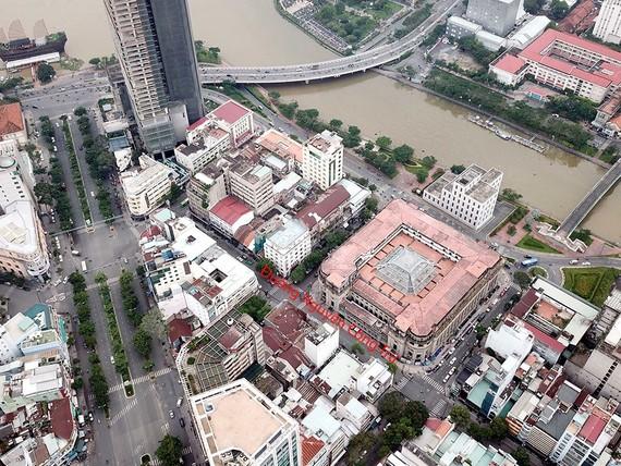 Đường Nguyễn Công Trứ từng là nơi đặt hàng chục sàn chứng khoán với số lượng nhà đầu tư tấp nập. Ảnh: TN
