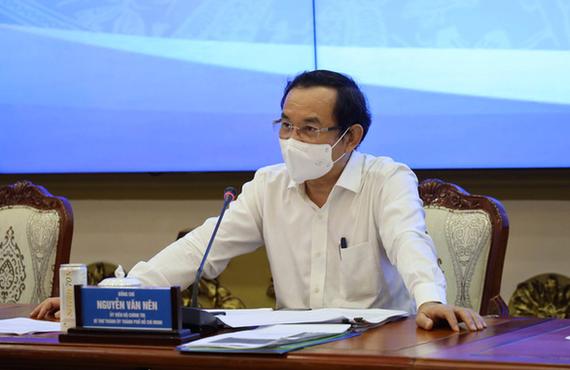 Ông Nguyễn Văn Nên, bí thư Thành ủy TPHCM. Ảnh: HUYỀN MAI