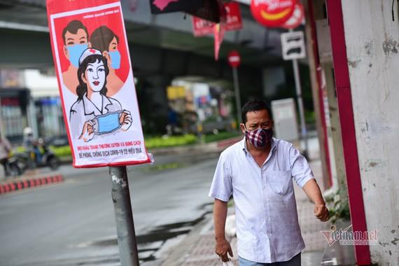 Quận Gò Vấp xin ngưng giãn cách xã hội sau thời gian thực hiện chỉ thị 16. Ảnh: VNN