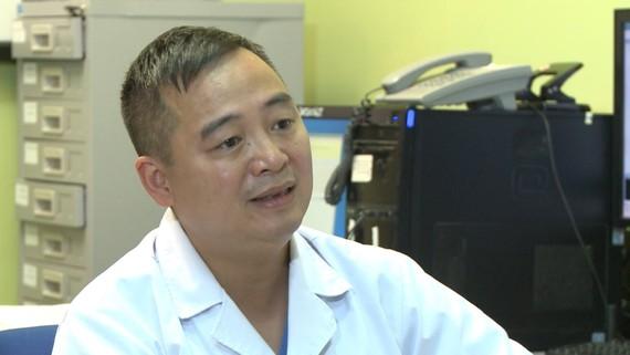 Bác sĩ Nguyễn Lân Hiếu.