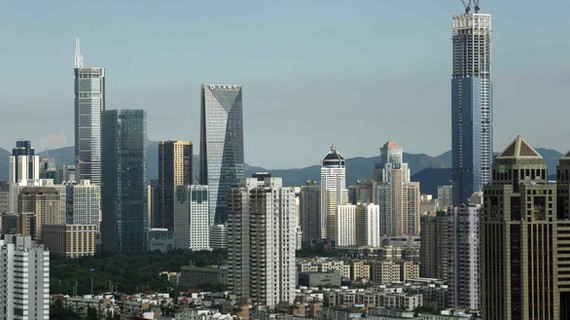 Thành phố Thâm Quyến, tỉnh Quảng Đông, Trung Quốc. Ảnh: NIKKEI ASIA