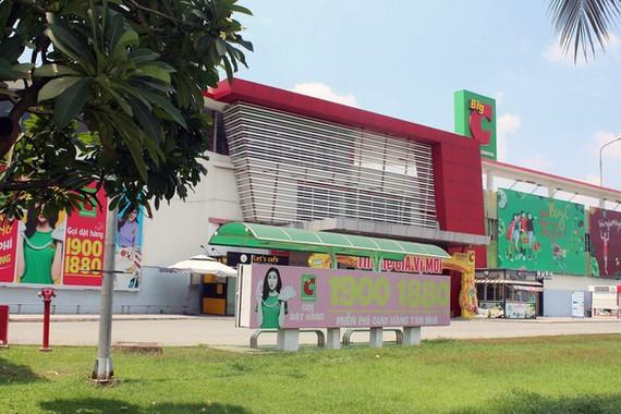 """Siêu thị Big C Đồng Nai gửi đơn kiến nghị cơ quan chức năng cho """"giải phóng"""" số hàng tươi sống đang bị """"phong tỏa"""" tạm thời. Ảnh: A LỘC"""