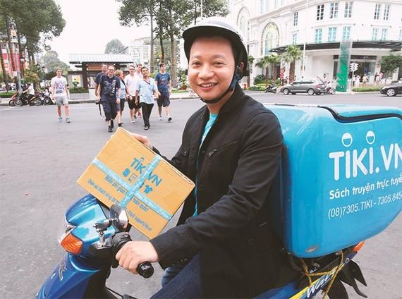 Nhà sáng lập, Chủ tịch HĐQT Tiki Trần Ngọc Thái Sơn. Ảnh: Tiki