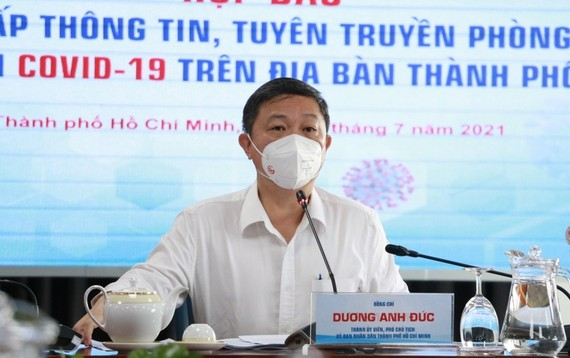 Phó Chủ tịch UBND TPHCM Dương Anh Đức. Ảnh: Zing