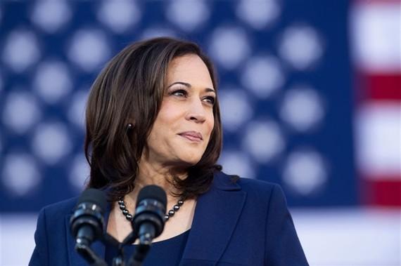 Phó tổng thống Mỹ Kamala Harris. Ảnh: AFP