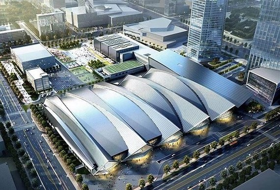 The Songdo Covensia Convention Centre in Incheon where the first Overseas Vietnamese Economic Forum will take place. (Photo: thuonghieuvaphapluat.vn)