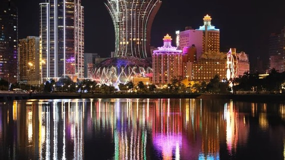 Since opening up its casino industry in 2002, Macao has seen its gambling market soar to become the largest in the world, six times the size of Las Vegas. (Photo by Ken Kobayashi)