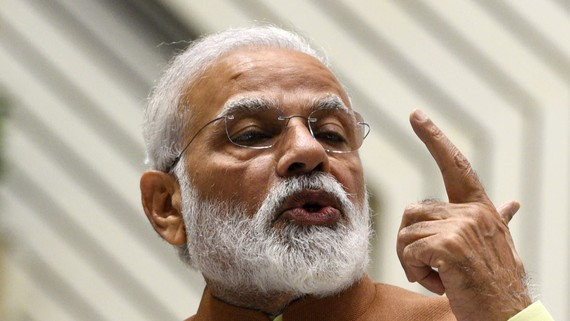Modi's government has no time to lose.   © Hindustan Times/Getty Images