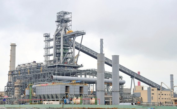 Formosa Ha Tinh Steel is having second thoughts about building a third blast furnace at this steel plant in central Vietnam.